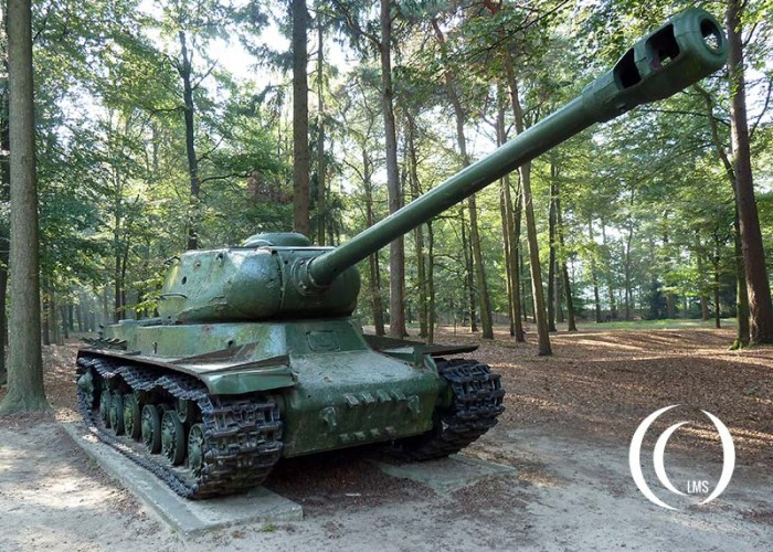 Joseph Stalin IS-2 Tank – Liberty Park, Overloon, Holland