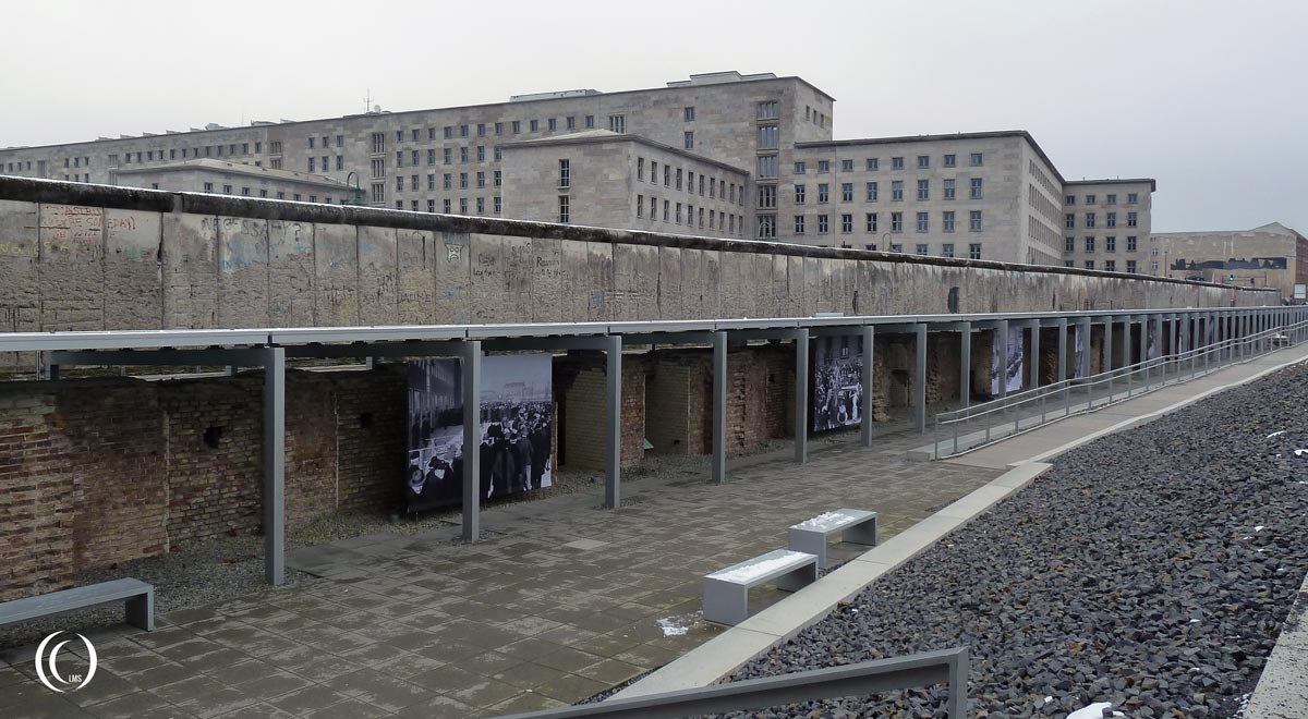 Gestapo Headquarters cellblock remains Berlin Germany