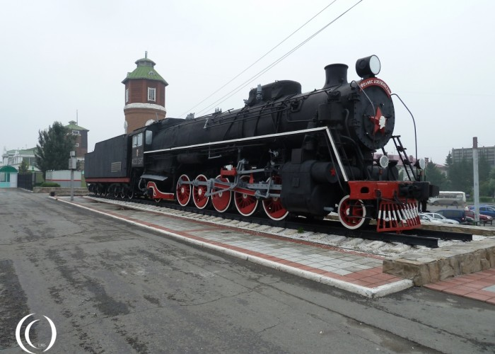 The ФД20 or FD20 Locomotive in Kurgan, Oblast Kurgan Russia