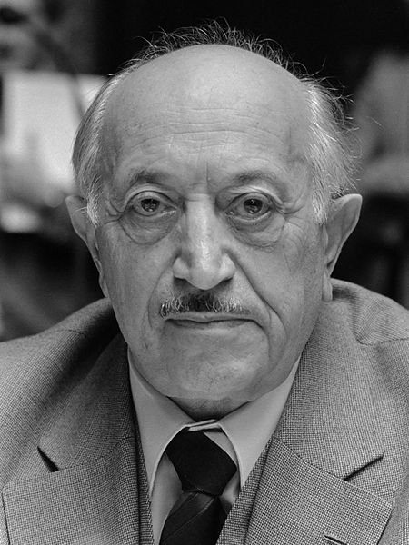 Simon Wiesenthal 1982, Hilton hotel The Netherlands