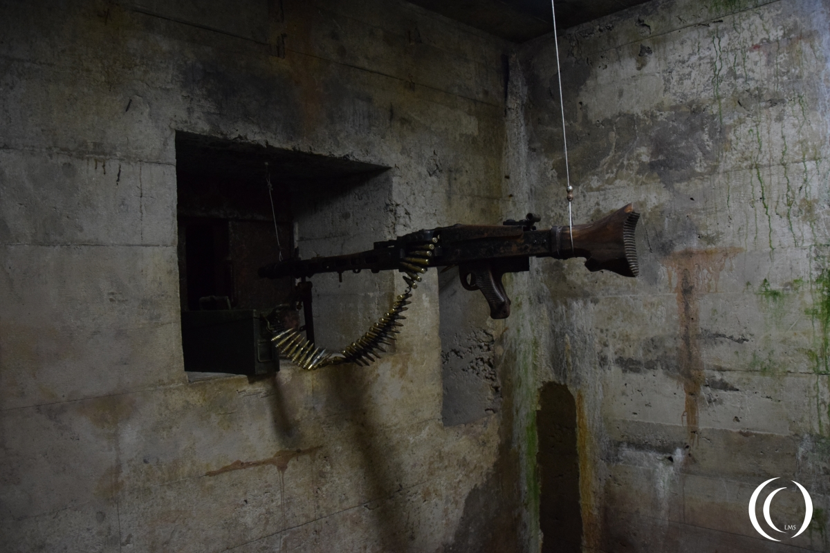 Close defence stand inside the tunnel of Osowka