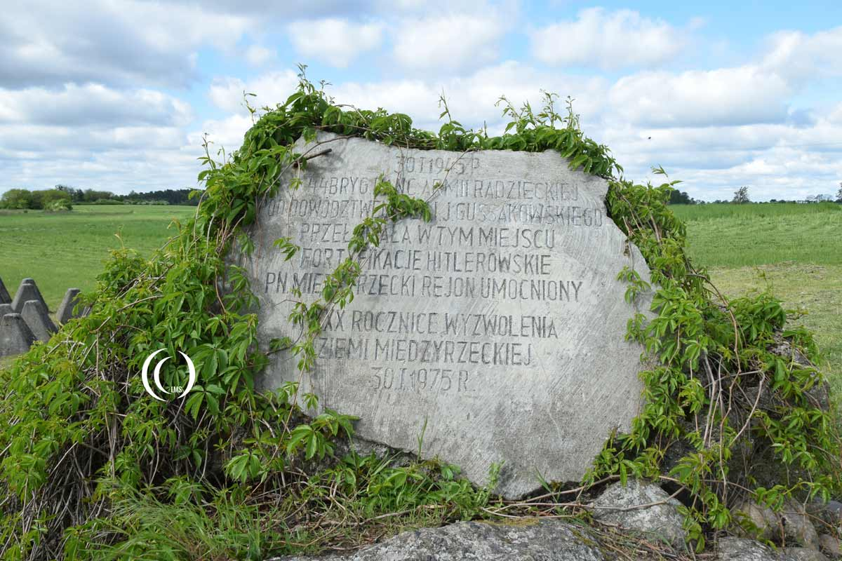 Monument for the 44th Guards Armoured Brigade at Oder-Warthe-Bogen Poland