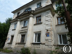 German Built Houses, Forced Labour in Kurgan – Russia