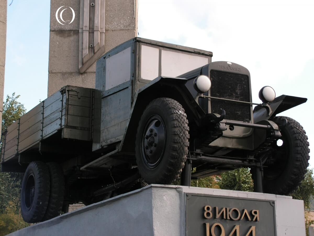 Zis-5 at the UralAZ Factory in Miass - Russia