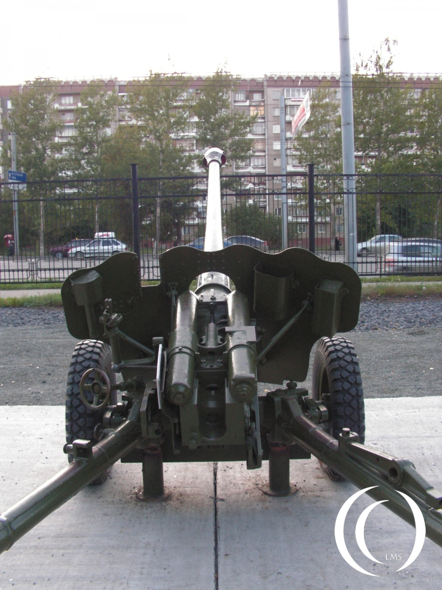 D44 is an 85mm Puska at Victory Park Chelyabinsk Russia
