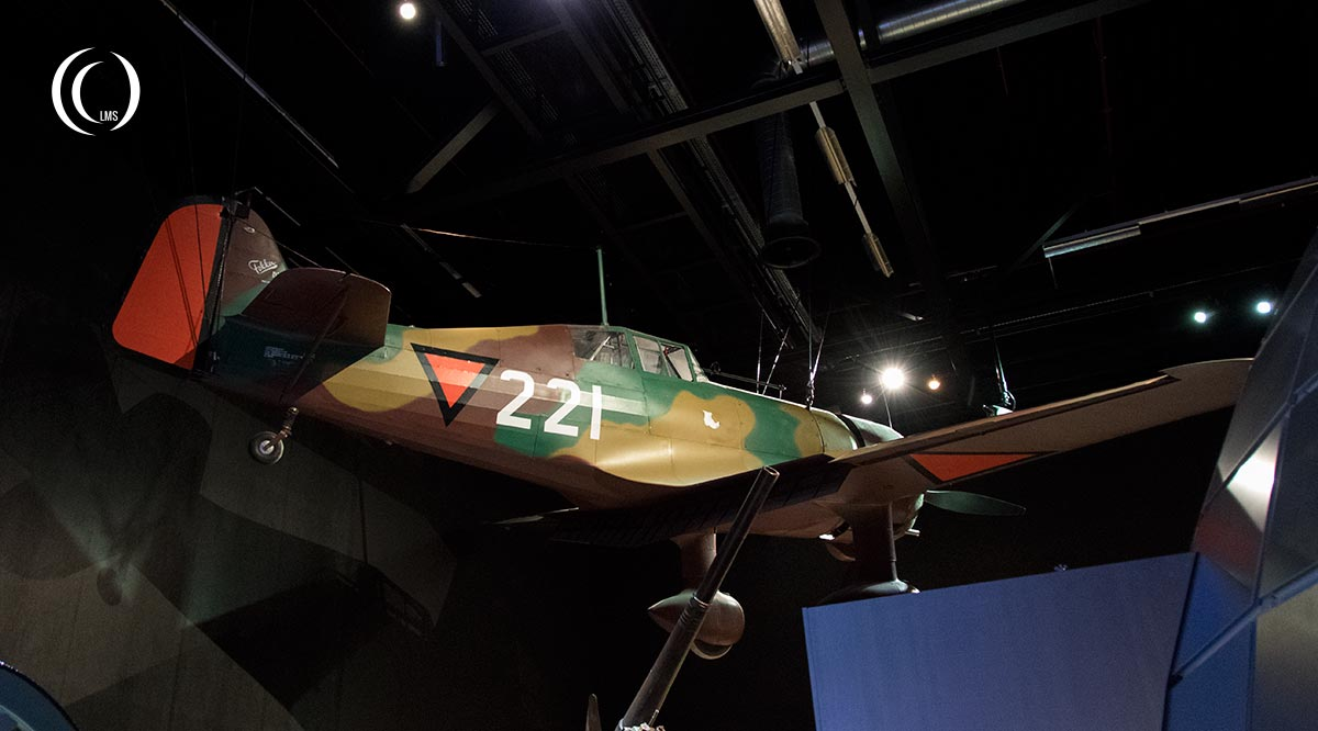 The Fokker DXXI 221 at Dutch Military Museum