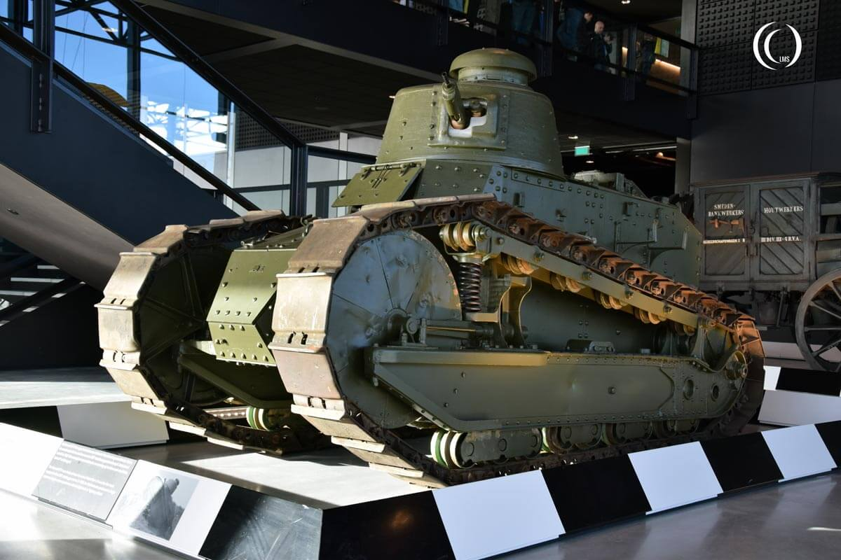 Renault FT17 tank in Soesterberg