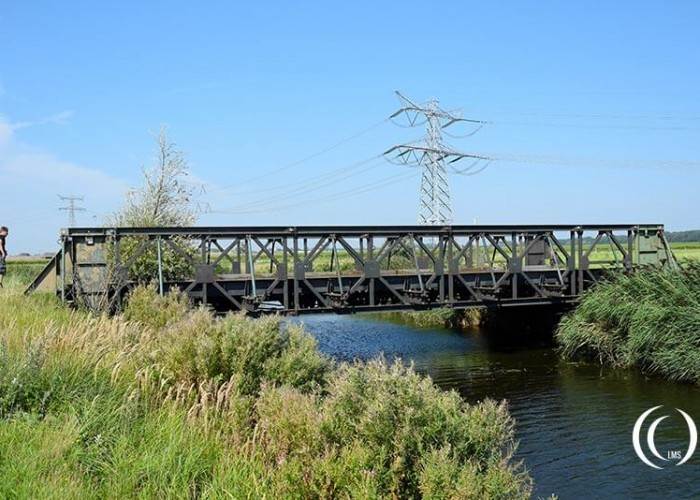 A Bailey Bridge along the Hoeksebaan – Hook of Holland, Netherlands