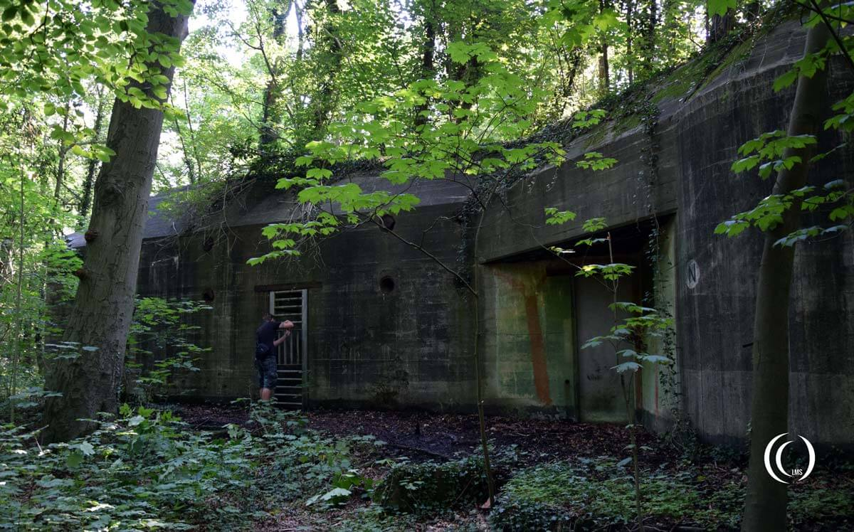 The Command bunker of Fortress Hook of Holland