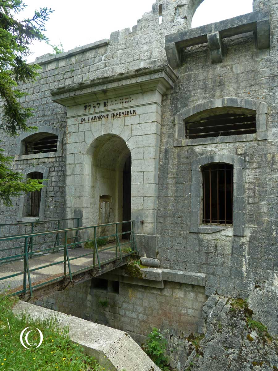 Entrance of Fort Mahler