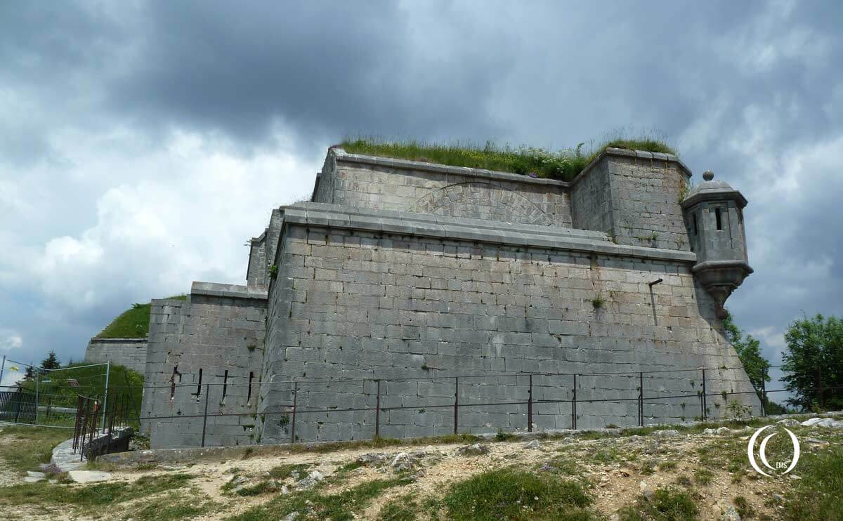 Fort Mahler at la-Cluse-te-Mijoux, France