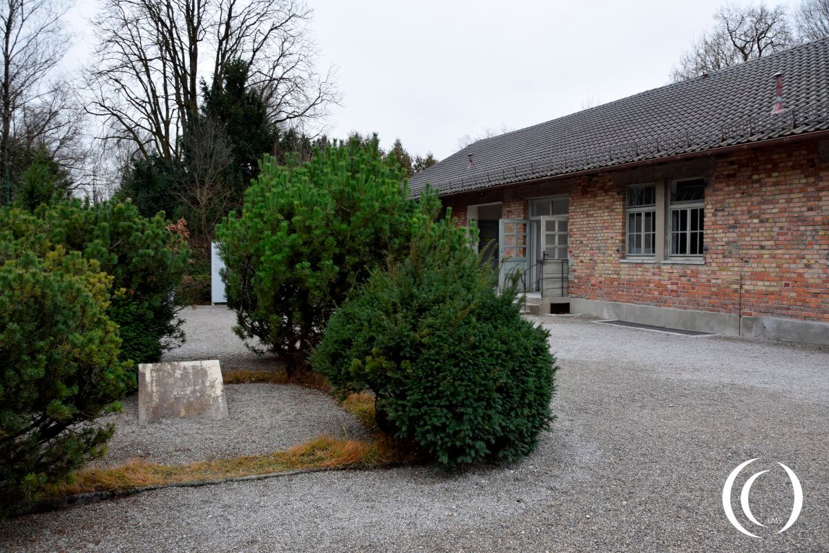 The location of the old gallows in Dachau
