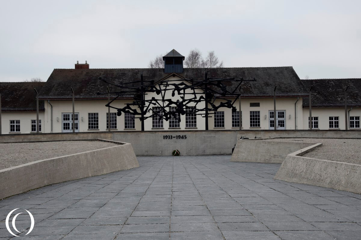 The main Dachau building