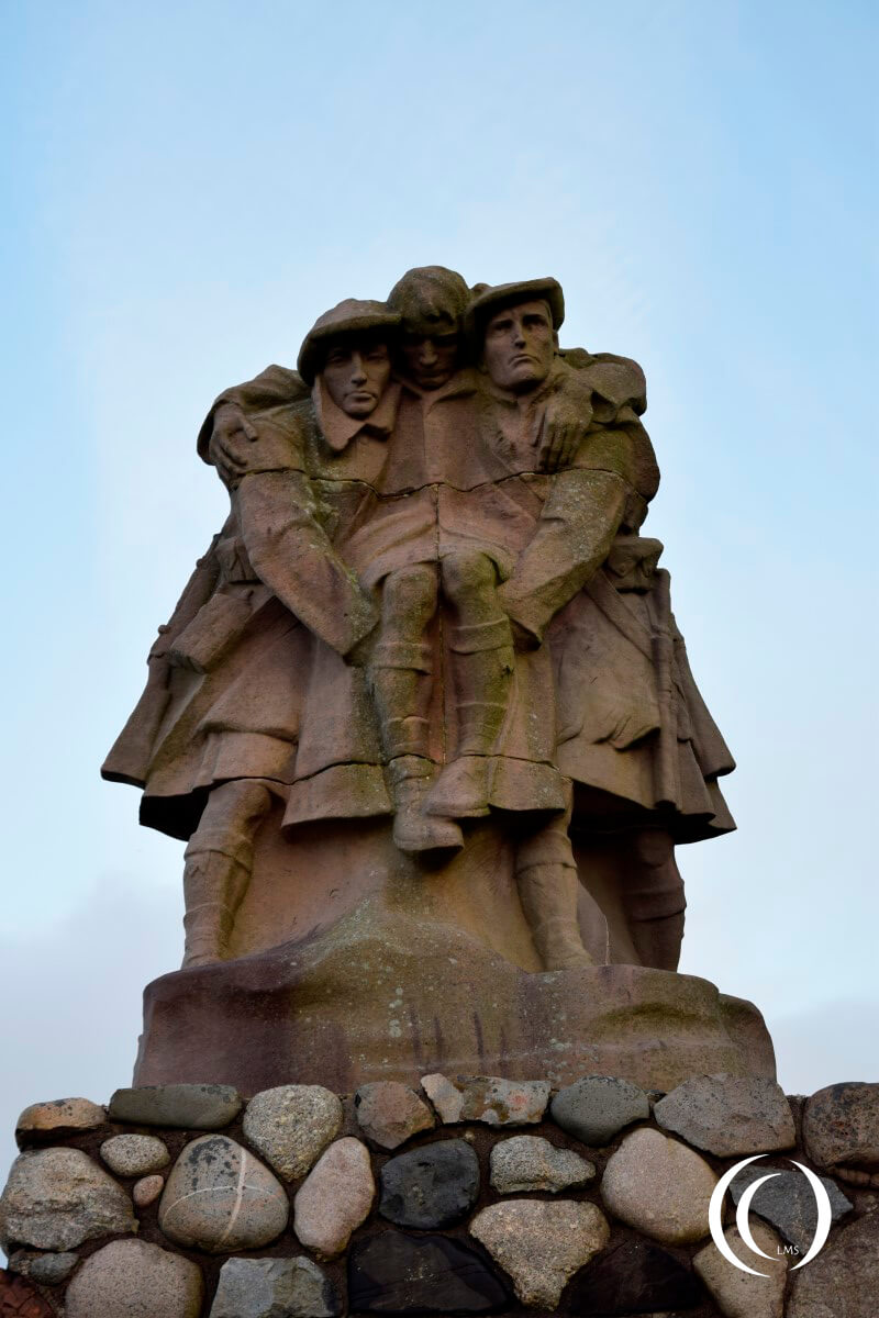 Oban war memorial Scotland (2)