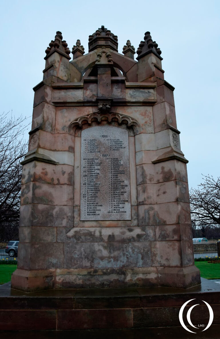 War memorial Dalkeith - World War One remembrance