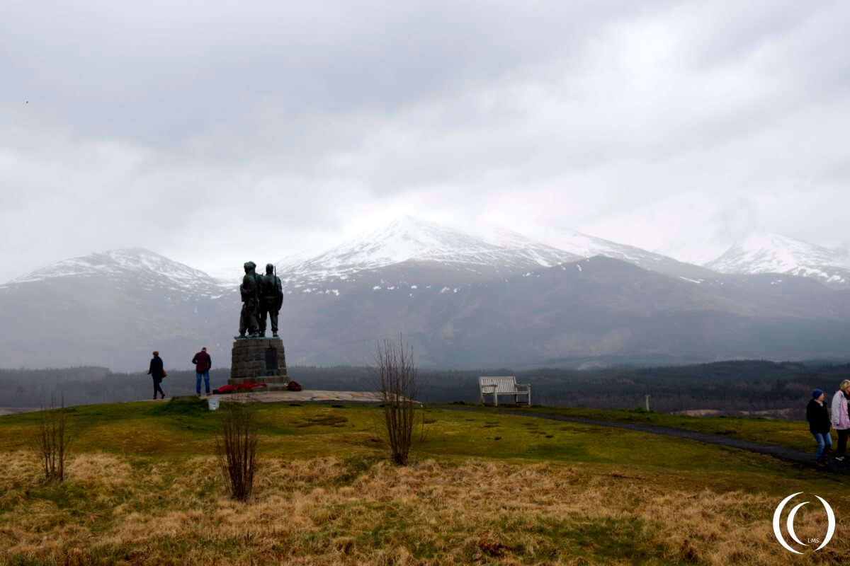 Commando Memorial, Ben Nevis in the Background