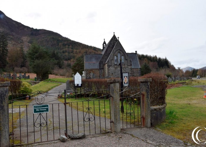 Memorial  and Commonwealth War Graves – Glencoe, Scotland
