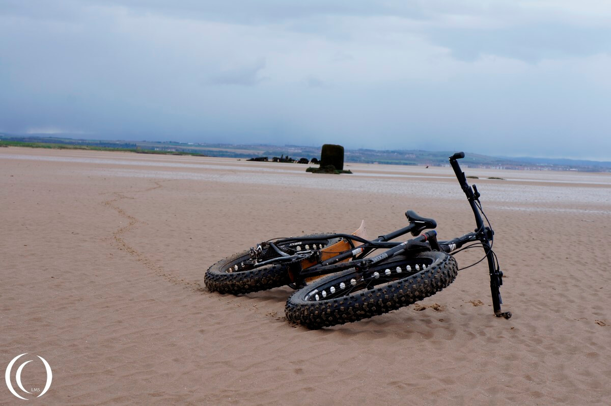 The Fattie, the block and the midget Sub on the East Lothian Beaches
