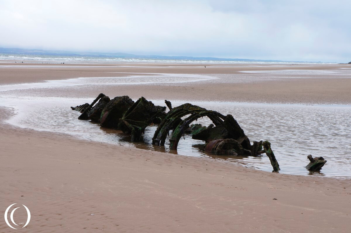 The Second XT_Class Midget Submarine at the Aberlady Beach
