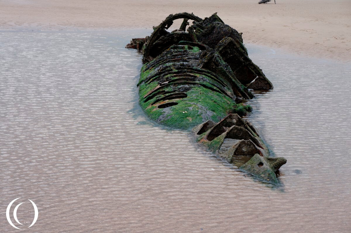 XT-Class Submarine at Aberlady Beach