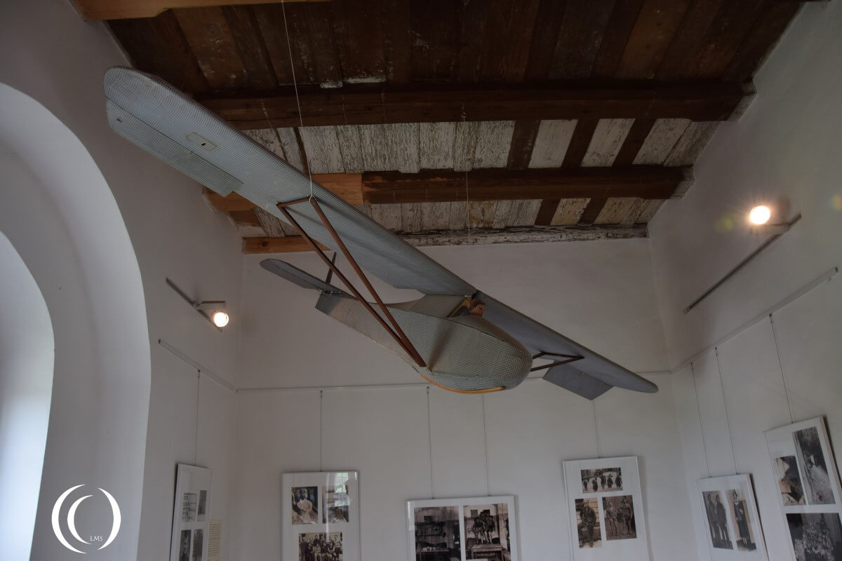 Castle Colditz, reconstructed glider