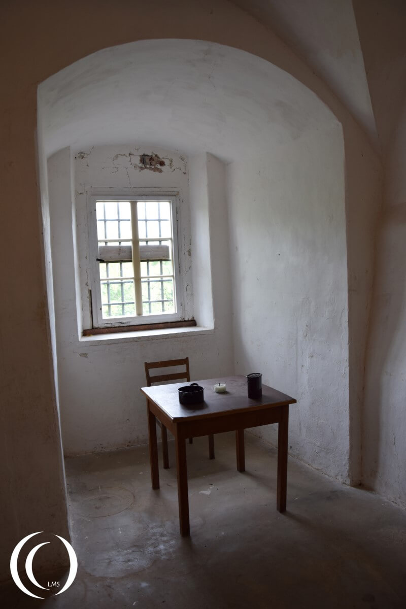 Castle Colditz, prison cell