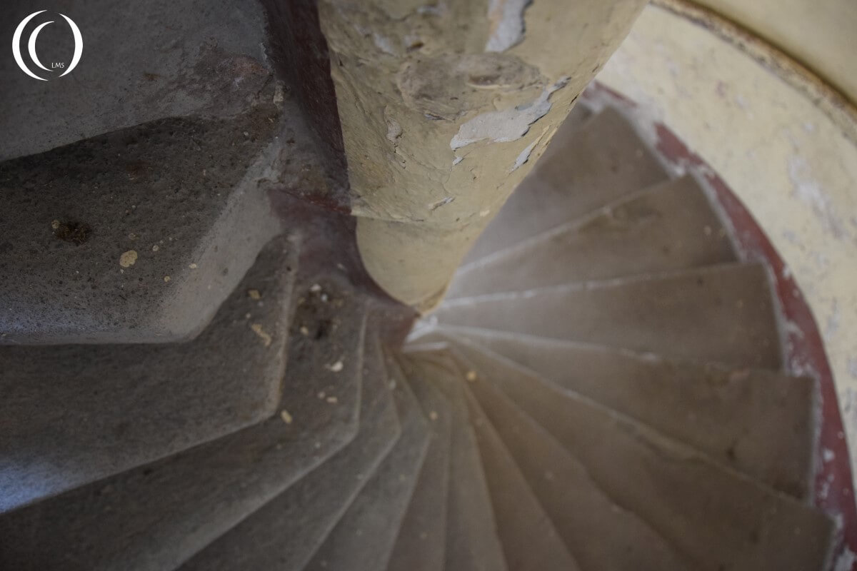 Castle Colditz, stairs