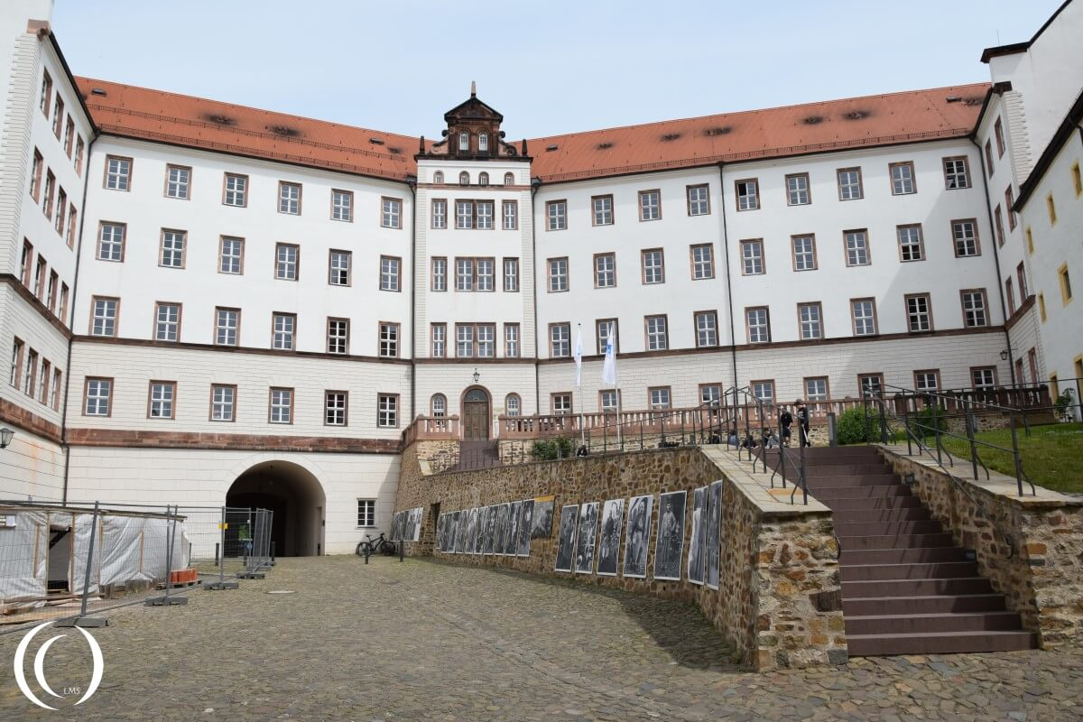 Castle Colditz, Courtyard and Youth hostel
