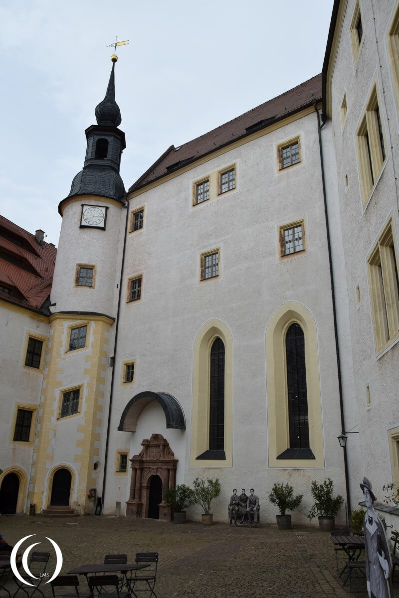 Castle Colditz, Second Courtyard