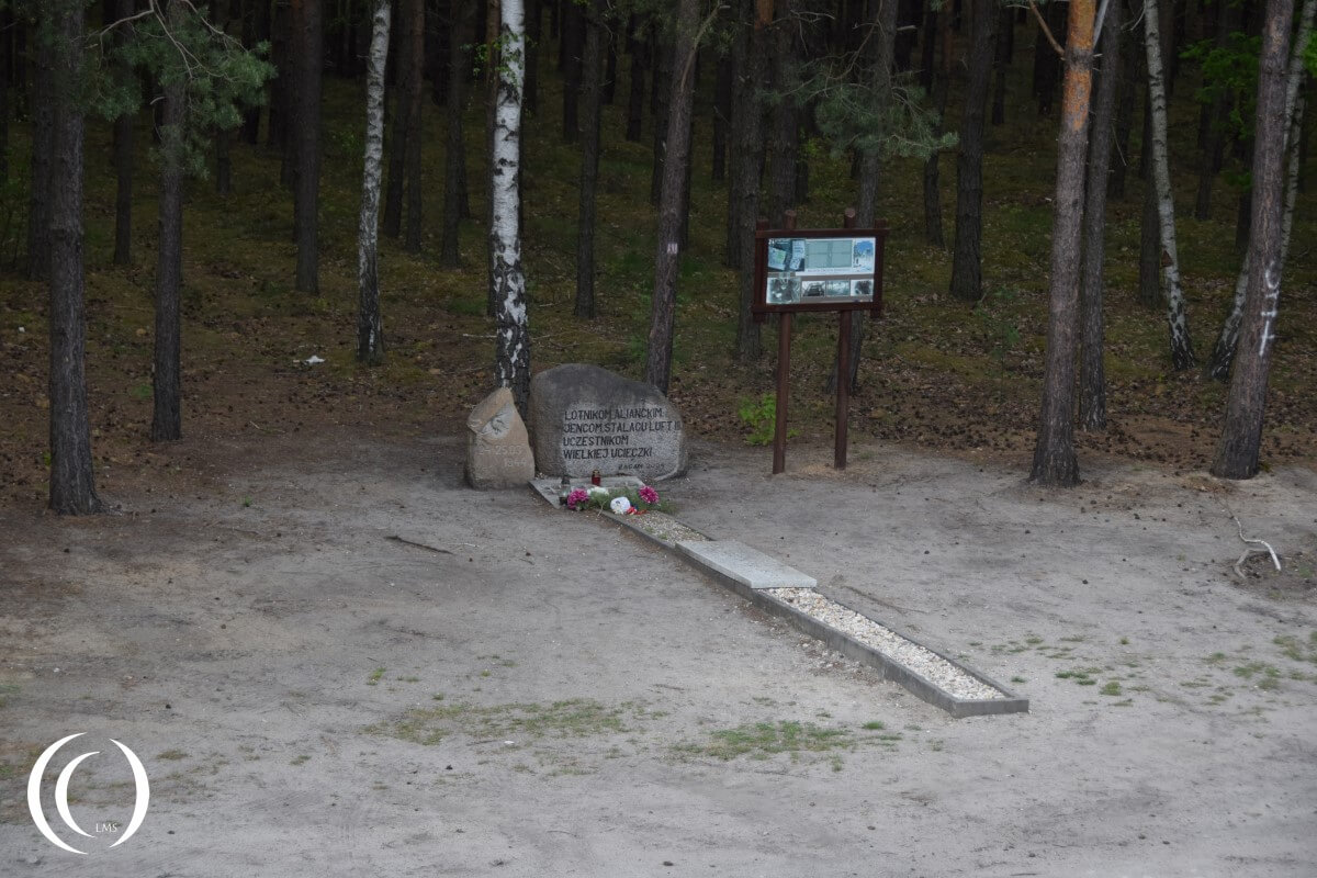 Stalag Luft III – Tunnel Harry ended just before the woods