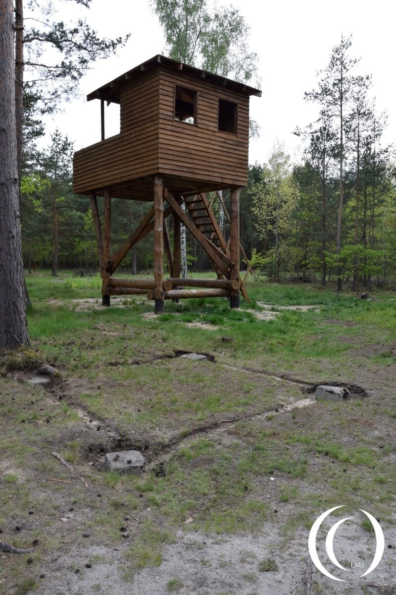 Stalag Luft III - Guard Tower - Original location in front