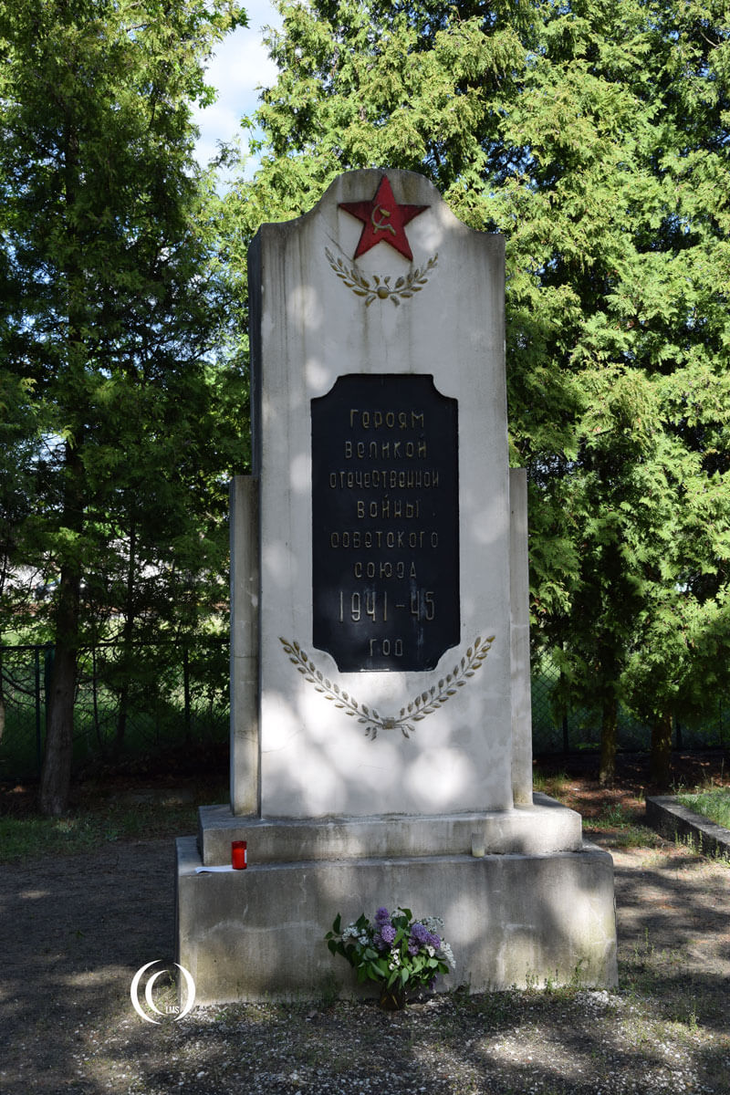 Russian monument at cemetery Zagan Poland