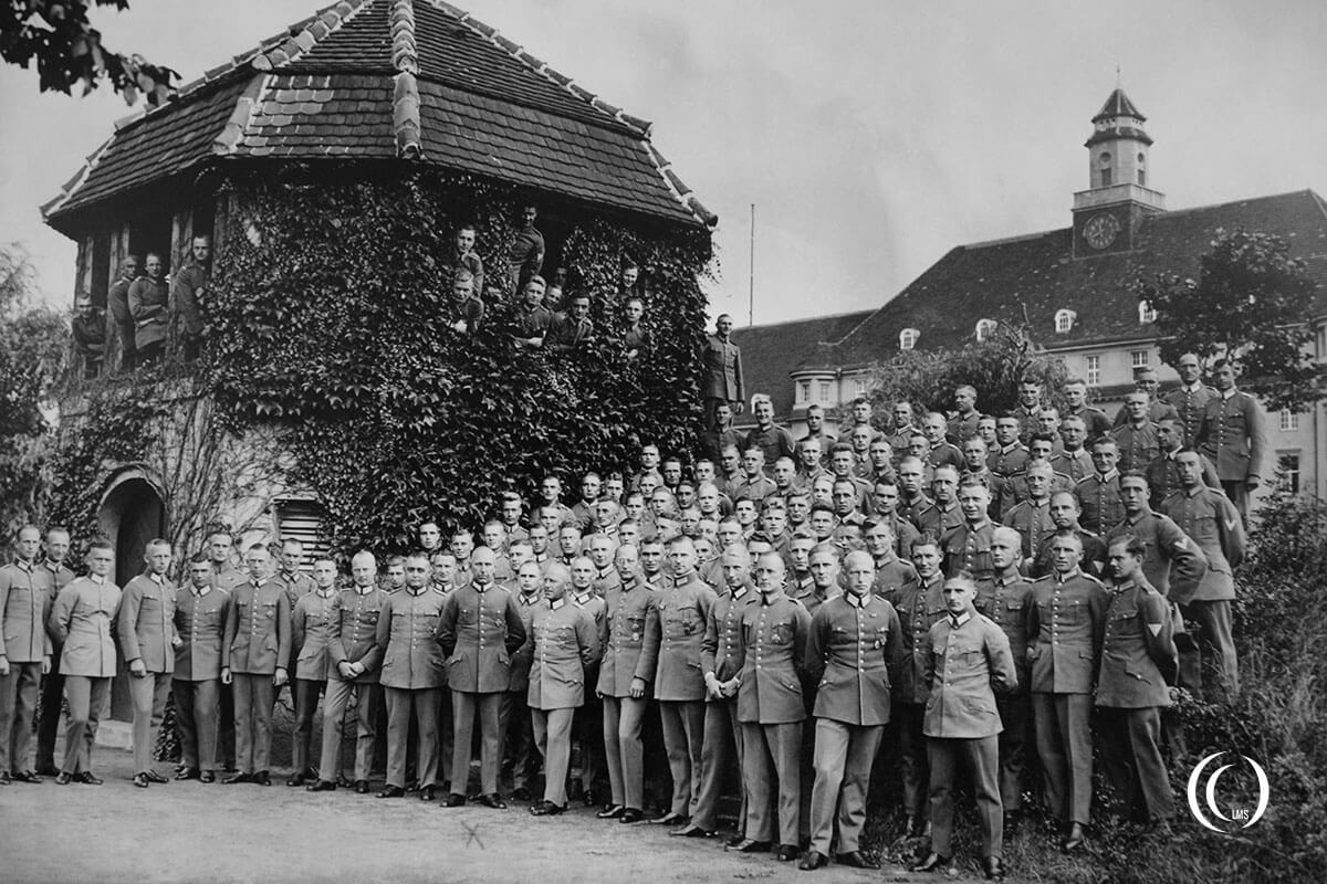 Group photograph at Truppenlager-Zossen