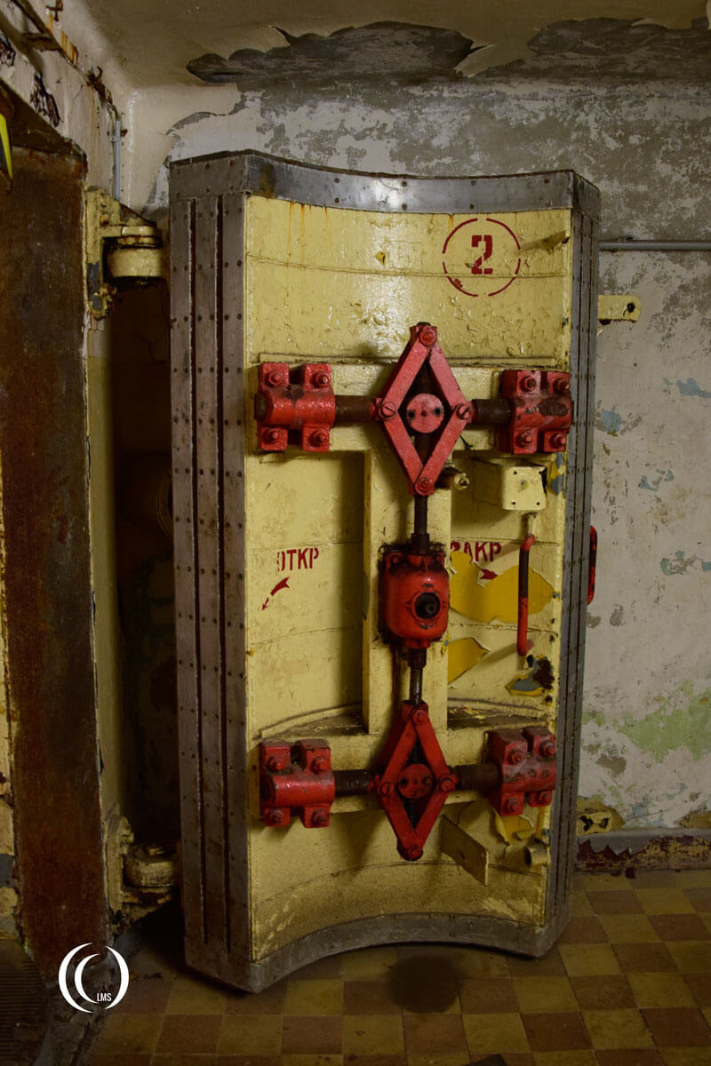 Soviet nuclear proof entrance door at RANET bunker zossen