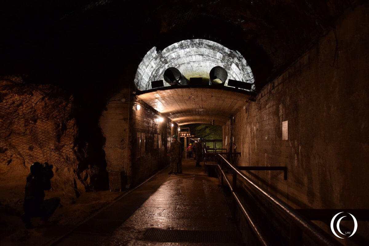 Tunnel Complex Rzeczka, connecting tunnel between tunnel one and two