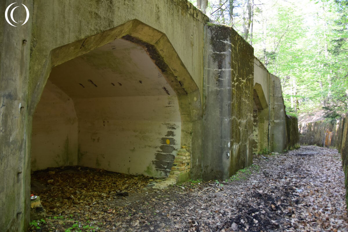 Ammunition storage Mölke