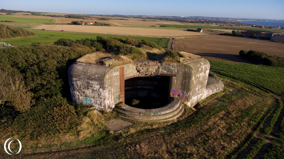 Batterie Todt Turm IV - by Phil Wood