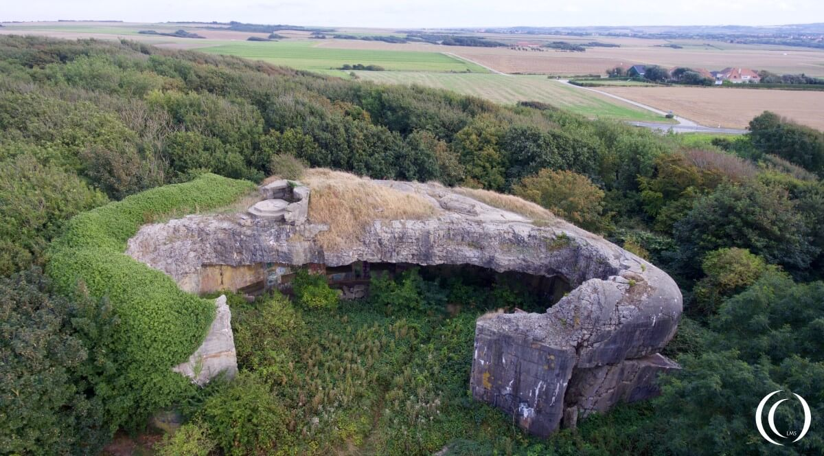 Batterie Todt Turm III - by Phil Wood
