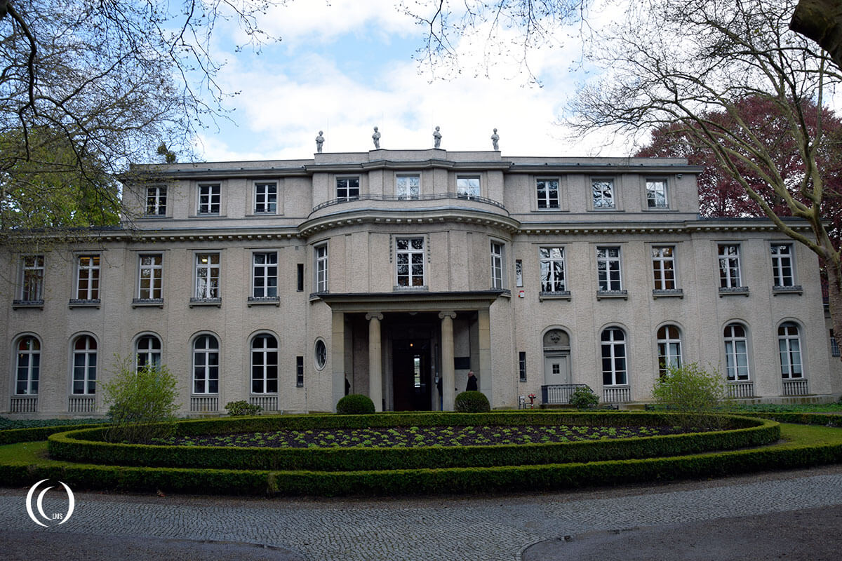 Facade of Villa Marlier at Wannsee Berlin