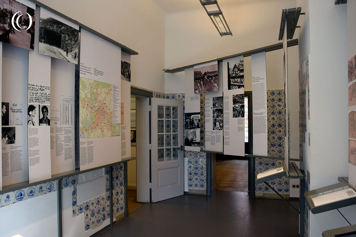 Information on display at House Wannsee