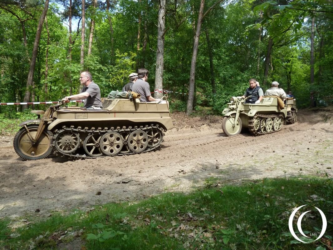 Sd. Kfz. 2 Kleines Kettenkraftrad, World Record attempt in May 2012, Militracks Overloon - Netherlands