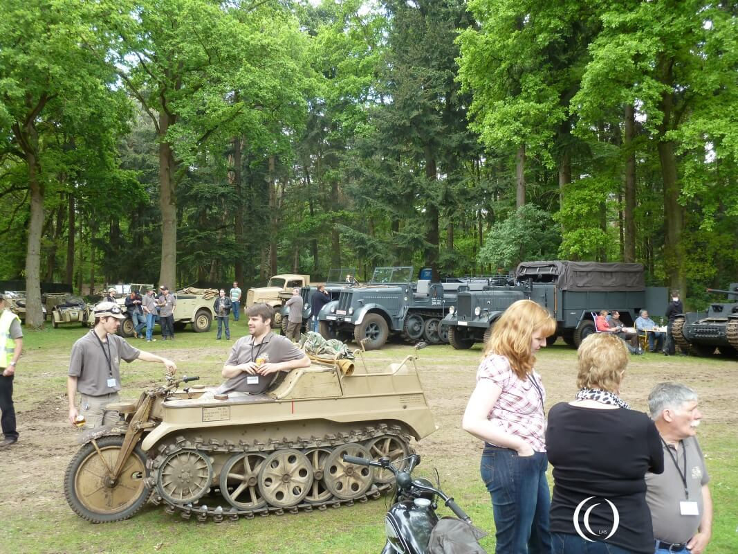 Sd. Kfz. 2 Kleines Kettenkraftrad at Militracks Overloon - Netherlands
