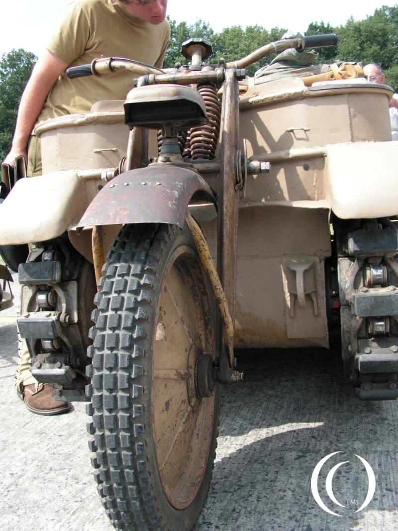 Sd. Kfz. 2 Kleines Kettenkraftrad at Wings and Wheels Belgium