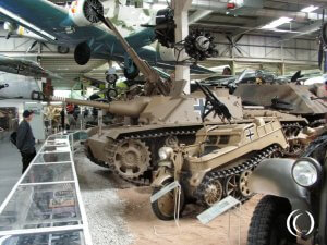 Sd. Kfz. 2 Kleines Kettenkraftrad with Machine Guns, Technical Museum Sinsheim - Germany