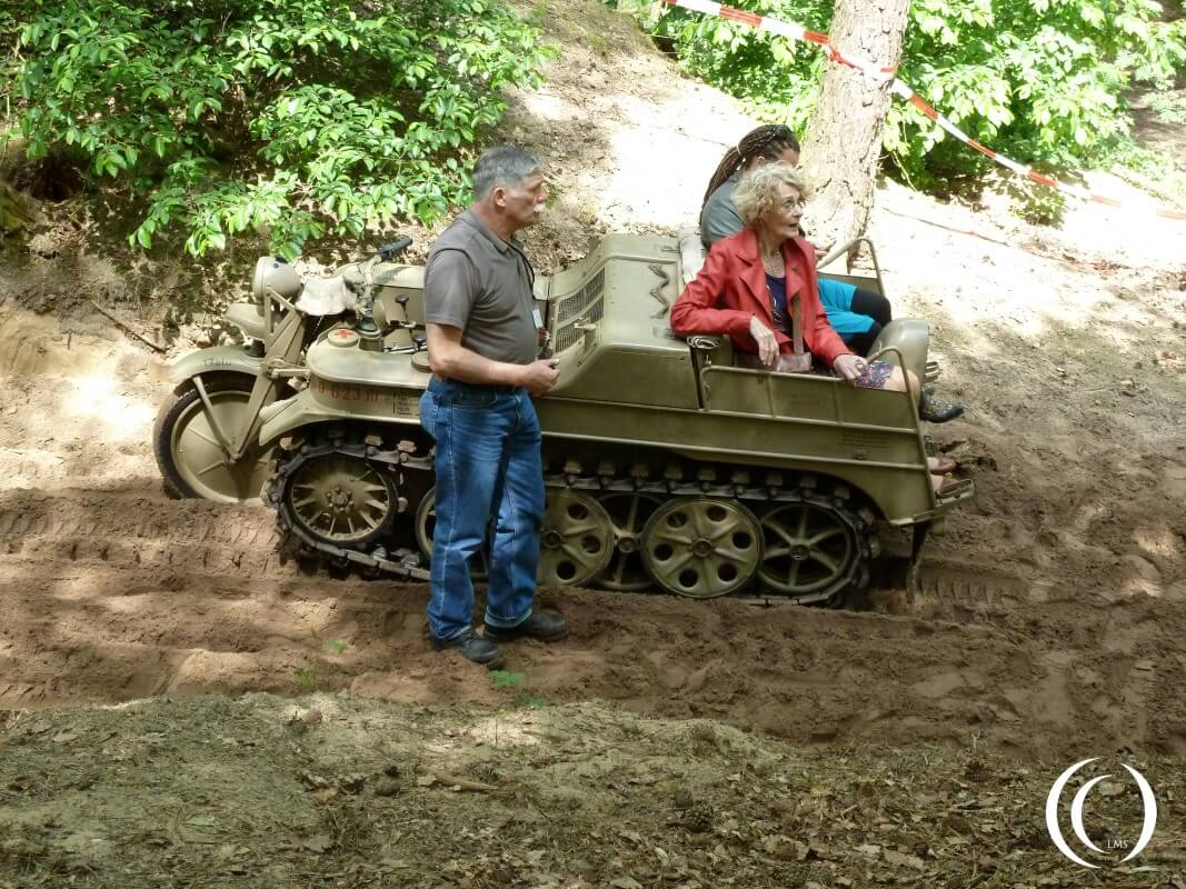 Word Record attempt with Sd. Kfz. 2 Kleines Kettenkraftrad