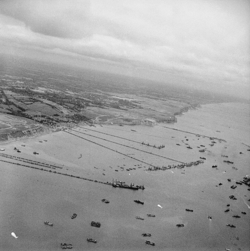 Mulberry B, September 1944, courtesy of Wikipedia