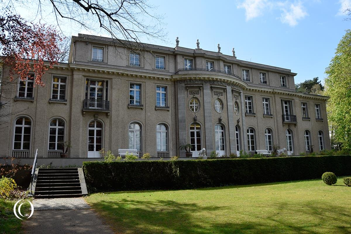 House of the Wannsee Conference lakeside