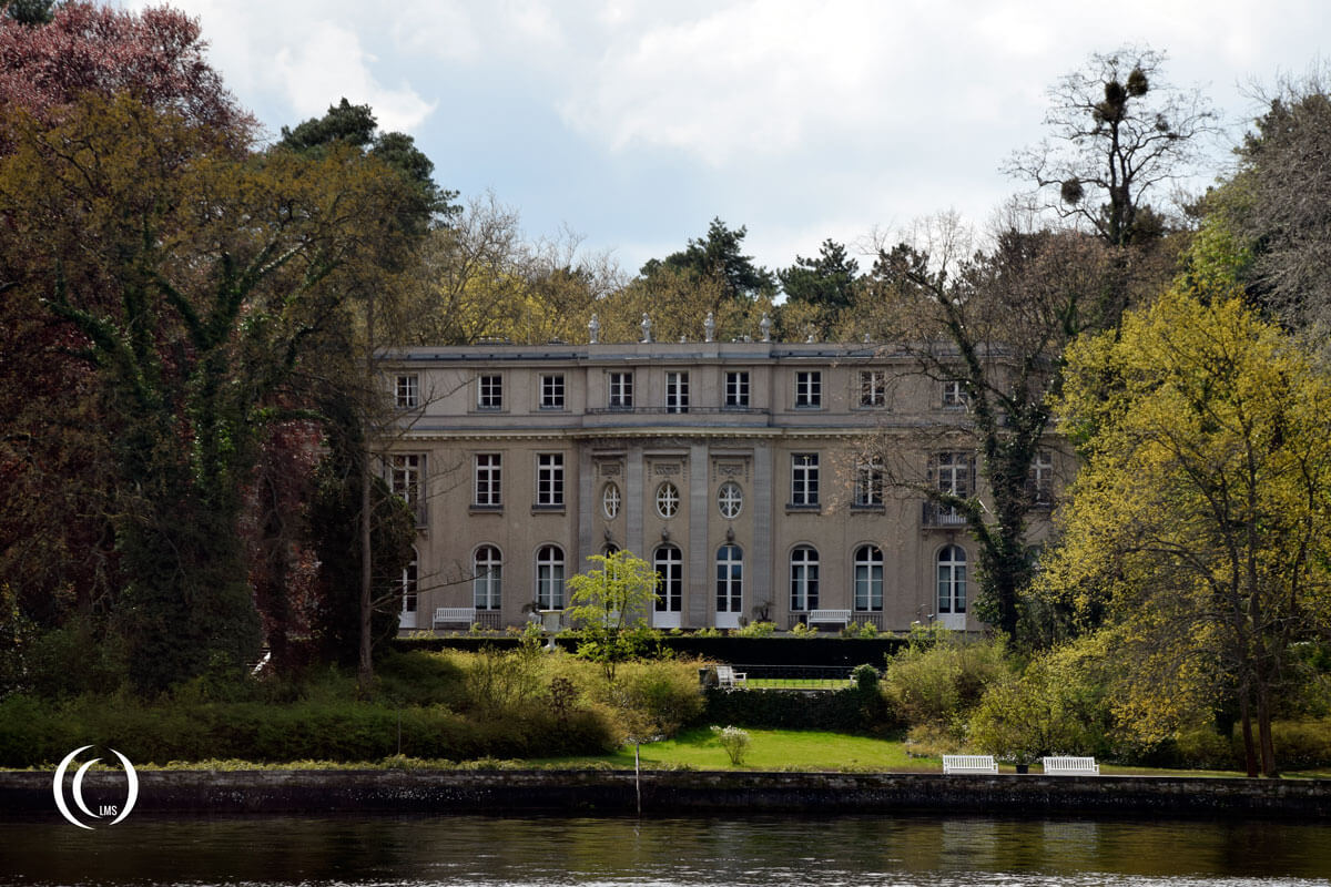 Villa Marlier of the Wannsee Conference lakeside view Wannsee Berlin