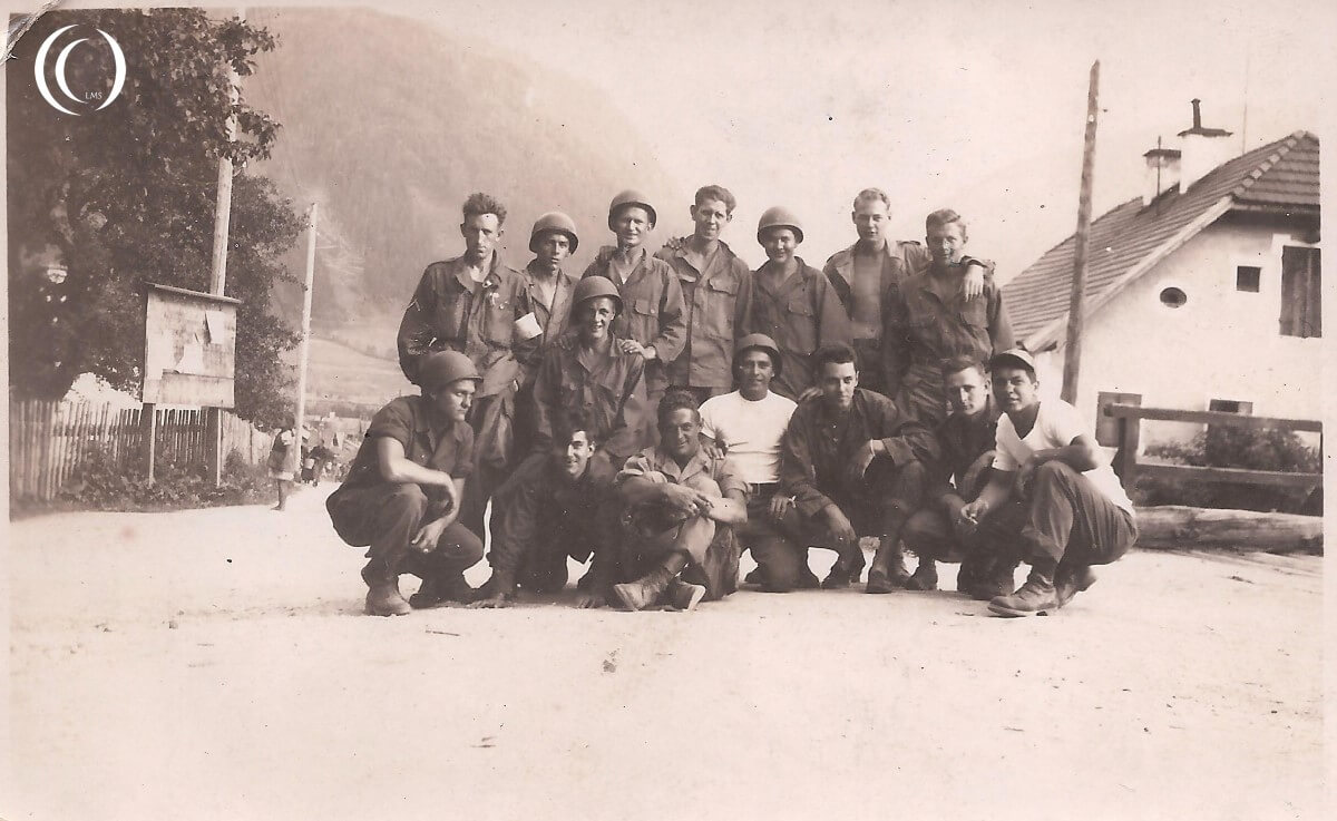 101th Airborne Division on occupation duty in Mittersill, Austria - Photo by Gary Martin from his dad Pfc Leopold Martin, 502nd PIR 'C'Company - 1st Battalion