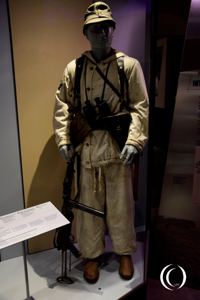 Bastogne War Museum - German Winter Camouflage